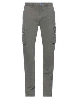 Повседневные брюки FRED MELLO. Цвет: хаки