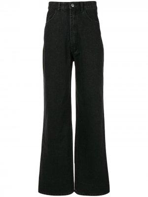 Расклешенные джинсы Ground Zero. Цвет: черный