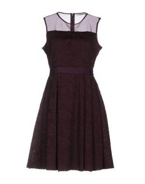 Короткое платье DARLING London. Цвет: баклажанный