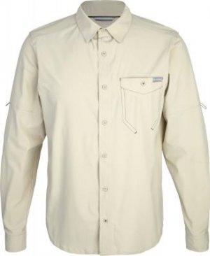 Рубашка с длинным рукавом мужская Triple Canyon Solid, размер 46-48 Columbia. Цвет: бежевый