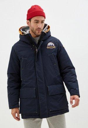 Куртка утепленная Napapijri ASTHER. Цвет: синий
