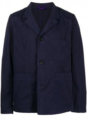 Куртка с карманами PS Paul Smith. Цвет: синий
