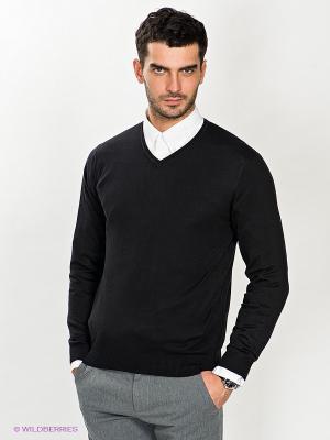 Пуловер Dimensione. Цвет: черный