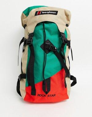 Зеленый рюкзак Rockstar 90 Berghaus