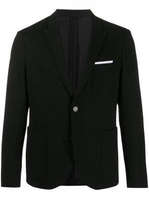 Пиджак с нагрудным карманом Neil Barrett. Цвет: черный