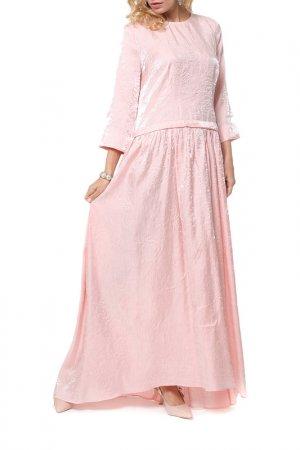 Платье Kata Binska. Цвет: светло-розовый