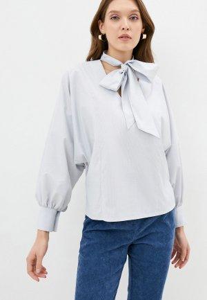 Блуза Kira Plastinina. Цвет: серый