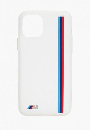 Чехол для iPhone BMW 11 Pro, M-Collection Translucent silicone Vert stripe Transp. Цвет: прозрачный