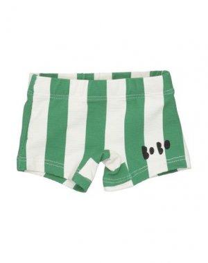 Пляжные брюки и шорты BOBO CHOSES. Цвет: зеленый