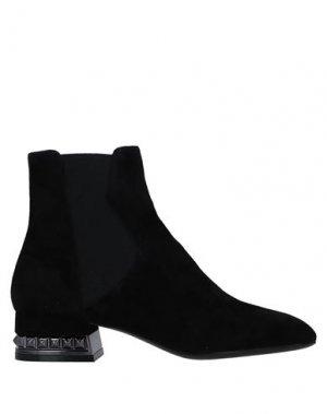 Полусапоги и высокие ботинки BRUNO PREMI. Цвет: черный