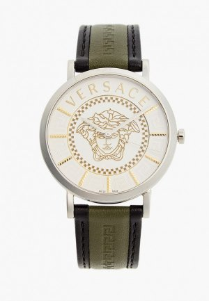 Часы Versace VEJ400121. Цвет: хаки