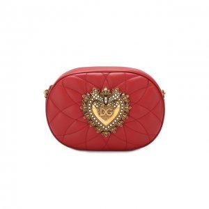 Сумка Devotion Dolce & Gabbana. Цвет: красный