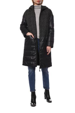 Пальто GAMELIA EXPERENS. Цвет: серый