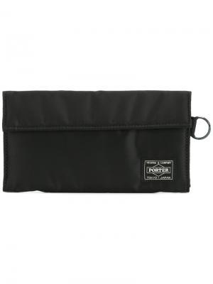 Длинный бумажник Tanker Porter-Yoshida & Co. Цвет: чёрный