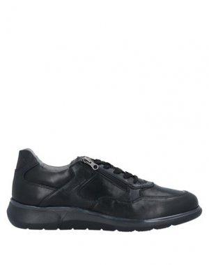 Кеды и кроссовки NERO GIARDINI. Цвет: черный