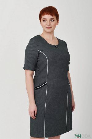 Платье Frank Walder. Цвет: серый