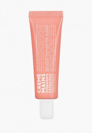 Крем для рук Compagnie de Provence розовый грйпфрут, 30 мл. Цвет: прозрачный