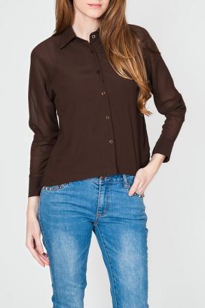 Блуза TANTRA. Цвет: brown