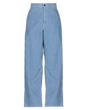 Повседневные брюки PENCE. Цвет: пастельно-синий