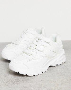 Белые спортивные кроссовки Unorthodox-Белый Public Desire