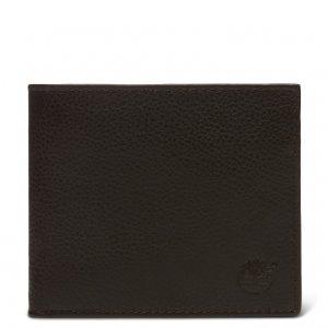 Кошельки Bifold Wallet With Coin Timberland. Цвет: темно-коричневый