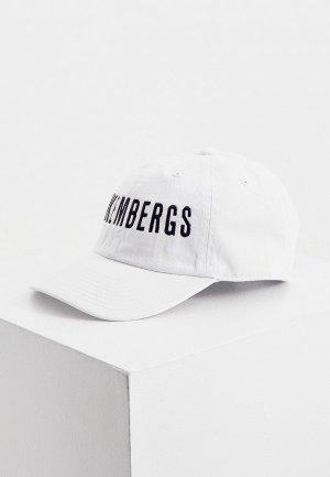 Бейсболка Bikkembergs. Цвет: белый