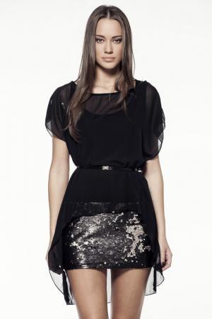 Платье Explosion. Цвет: золотой