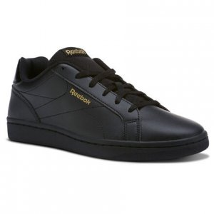 Кроссовки Royal Complete Clean Reebok. Цвет: black / black / gold met