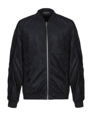 Куртка ANERKJENDT. Цвет: темно-синий