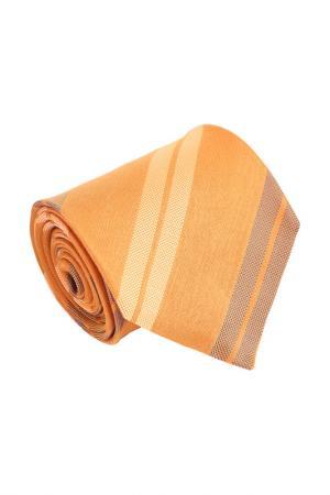 Галстук Ermenegildo Zegna. Цвет: оранжевый