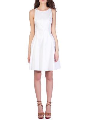 Платье GIO Guerreri. Цвет: белый