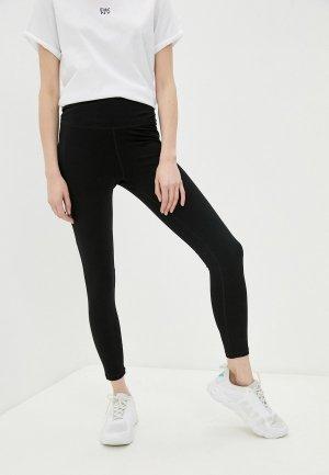 Леггинсы DKNY. Цвет: черный