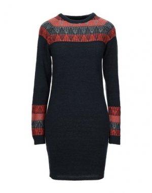 Короткое платье BENCH.. Цвет: стальной серый