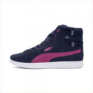 Ботинки Puma Vikky Mid WTR. Цвет: синий