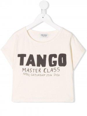 Tango T-shirt Bobo Choses. Цвет: нейтральные цвета