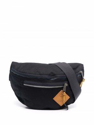 Поясная сумка с нашивкой-логотипом Eastpak. Цвет: черный