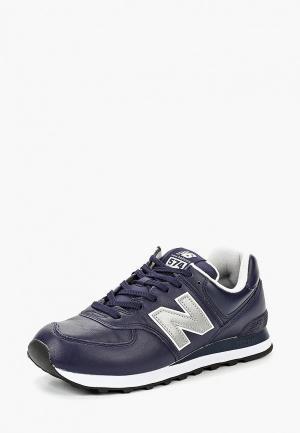 Кроссовки New Balance 574v2. Цвет: синий