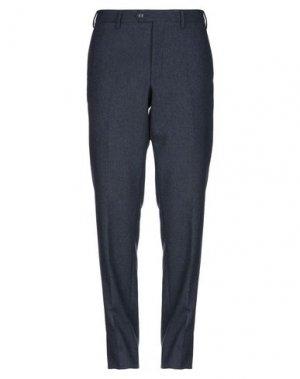 Повседневные брюки ANGELO NARDELLI. Цвет: темно-синий