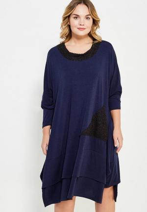 Платье Sophia. Цвет: синий