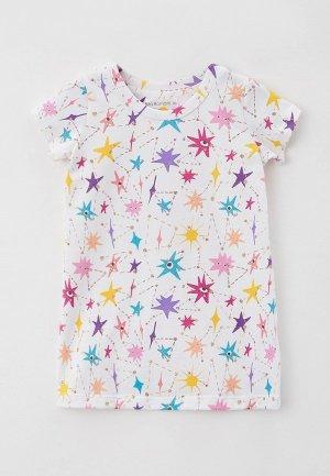Сорочка ночная Ritta Romani SHINY. Цвет: белый