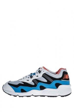 Кроссовки New Balance. Цвет: белый, синий