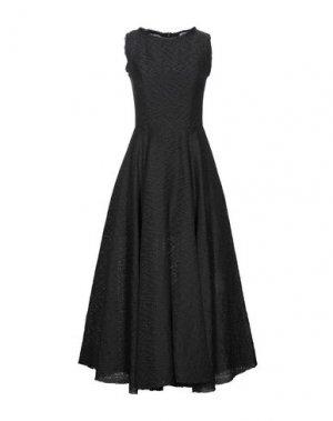 Длинное платье HACHE. Цвет: черный