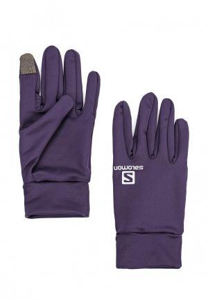 Перчатки Salomon ACTIVE GLOVE. Цвет: синий