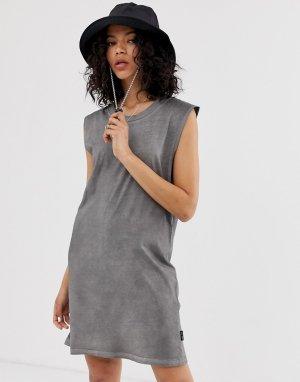 Платье-майка из органического хлопка -Черный Cheap Monday