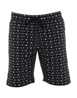 Пляжные брюки и шорты ALTAMONT. Цвет: черный