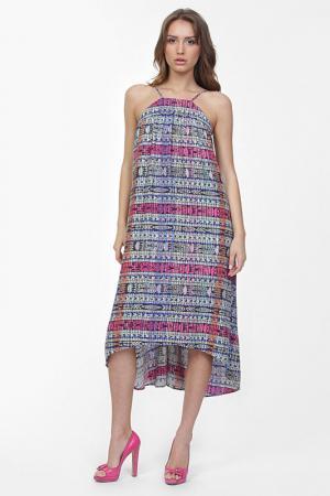 Платье Aiko. Цвет: мультицвет