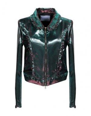 Куртка PARAKIAN. Цвет: изумрудно-зеленый