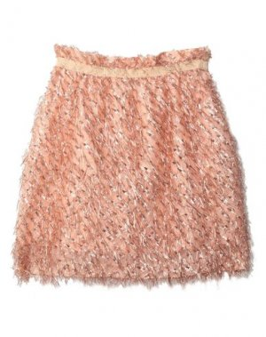 Мини-юбка ATOS LOMBARDINI. Цвет: абрикосовый