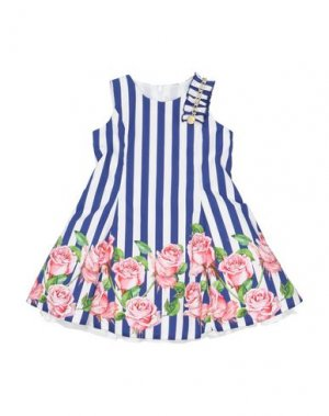 Платье LOREDANA. Цвет: синий
