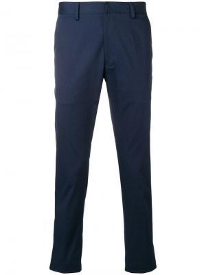 Классические брюки в полоску Etro